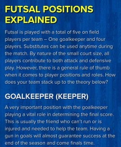 Futsal Positions 1